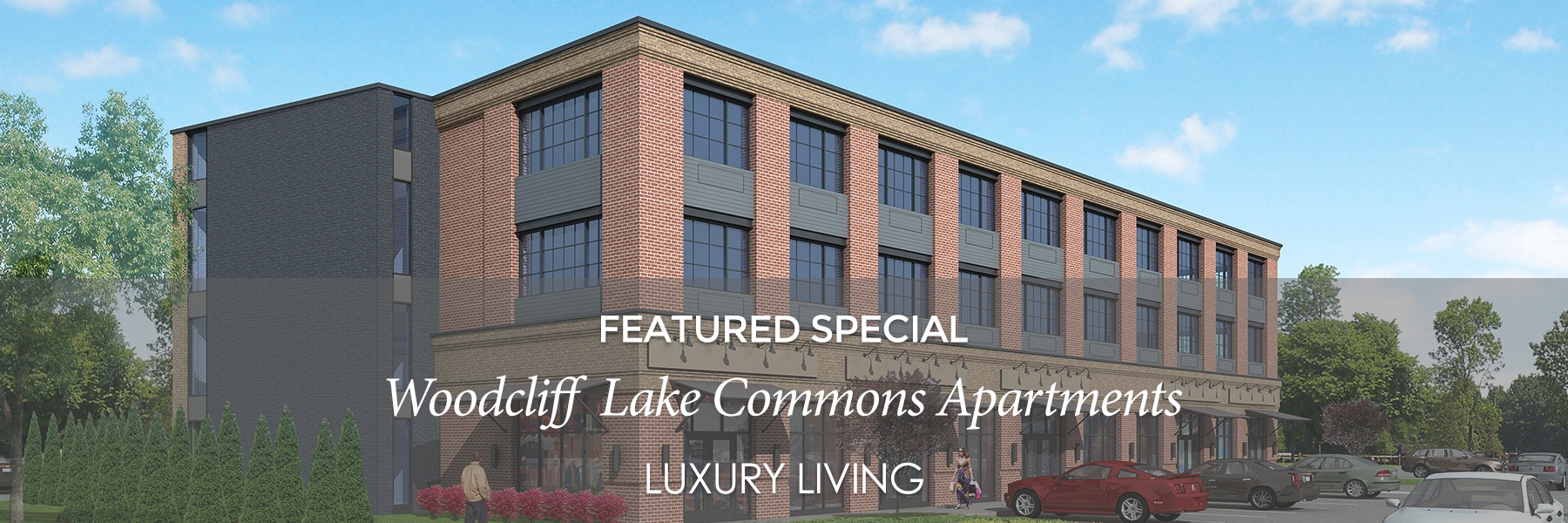Available luxury apartments for rent in Woodcliff Lake, NJ. Brand New Construction